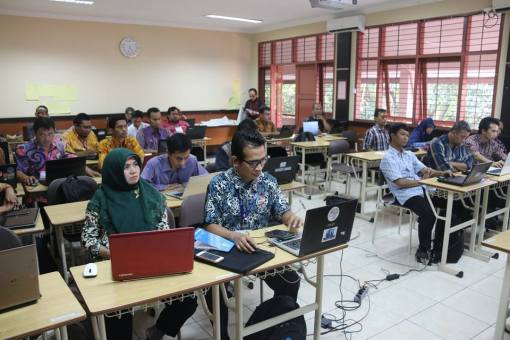Pelatihan Calon Instruktur Nasional Guru Pembelajar